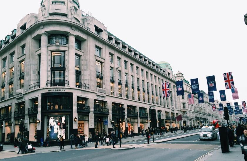 Burberry Regent Street Thomas's