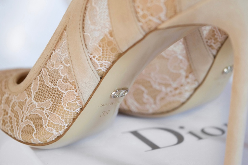 Dior wedding shoes