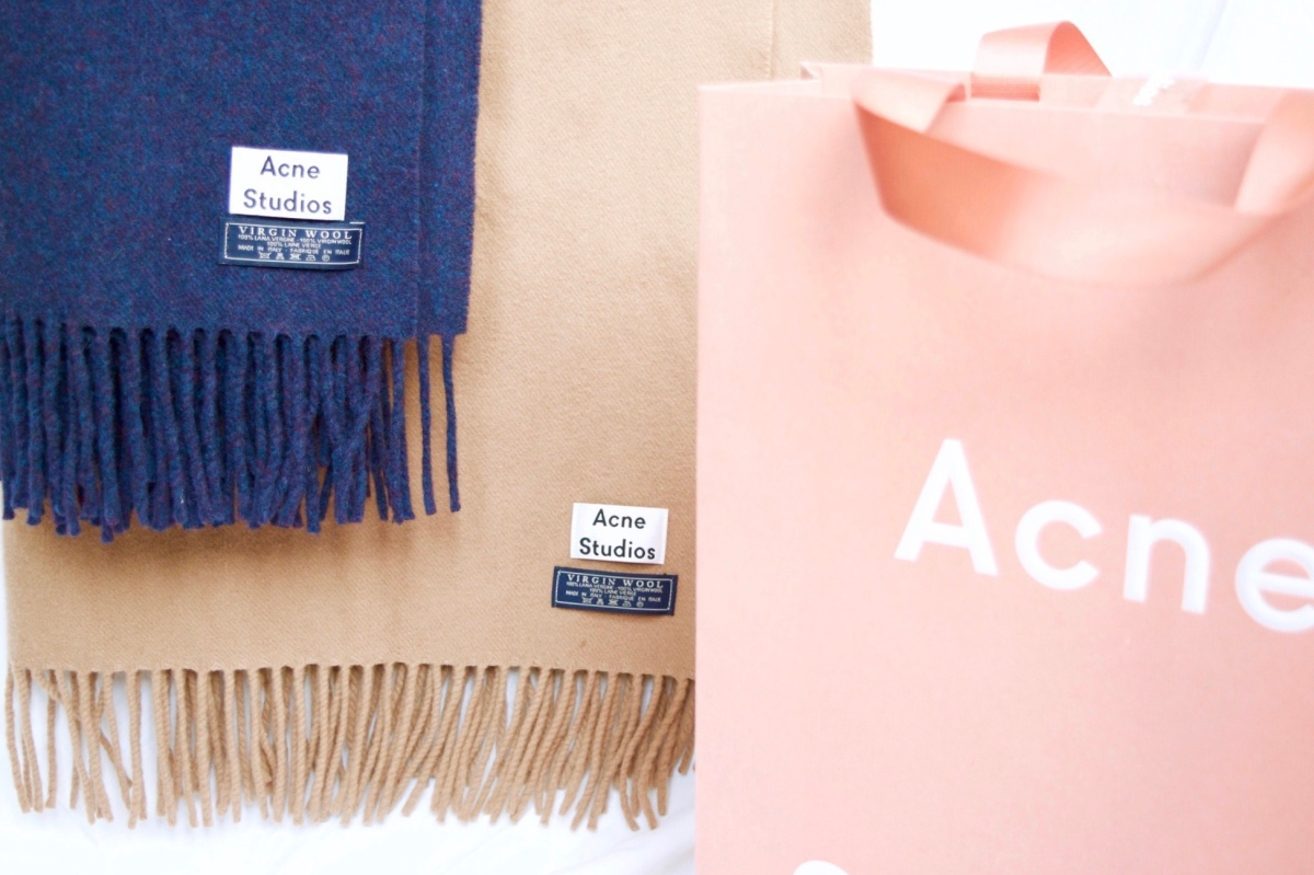Acne Studios: The Canada Scarf