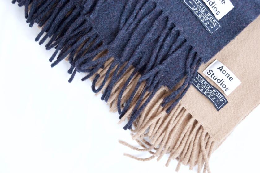 acne studios canada scarf
